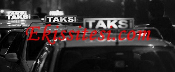 Ek İş Taksicilik
