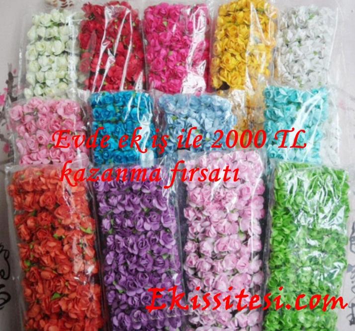 Yapay Çiçek Paketleme işi Veren Firmalar